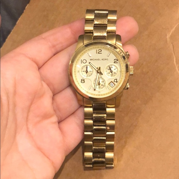 Michael Kors Accessories - Michael Kors Gold Watch